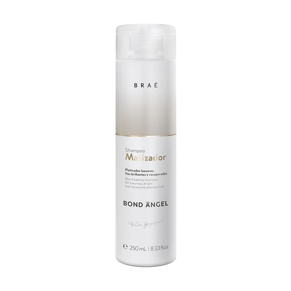 BRAÉ Bond Angel Blond Balance Shampoo Matizador - Тонирующий шампунь, 250 мл.